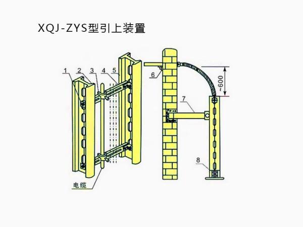 电缆桥架引上装置